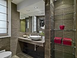Modern Half Bathroom Ideas Architecture Small E Throughout Design Decorating