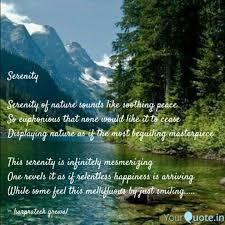 Serenity Serenity Of Nat Quotes Writings By Harprateek Grewal