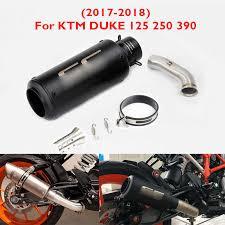 <b>Slip on Duke 125</b> 250 390 RC390 Motorcycle Exhaust Tip Muffler ...