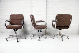 vintage office chairs for sale. Vintage Brown Office Chairs Made In Canada For Sale Near Brooklyn Ny Nyc O