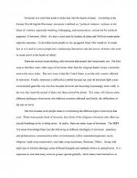 terrorism an international crisis college essays zoom