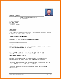How To Write A Basic Resume Templates Simple Resume Template Word Example Templates 004 Format In