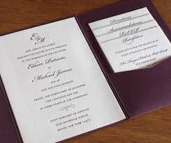 Wedding Invitation Folder Pocket Folders For Destination Wedding Invitations
