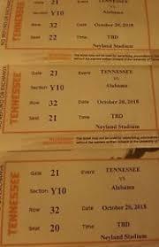 Tennessee Volunteers Football Seating Chart Details About Tennessee Volunteers Football Tickets