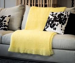 Lemon Throw Blanket