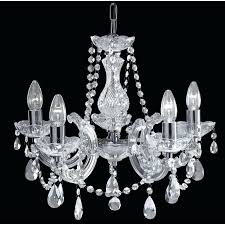 marie chandelier searchlight 5 light chrome tesco therese black