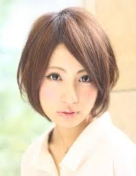 暗髪カラー小顔ショート髪型ke 125 ヘアカタログ髪型ヘア