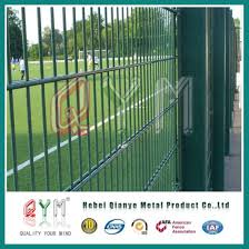 wire garden fence. Twin Wire Welded Mesh Fence Panels /Double Garden Fencing Wire Garden Fence
