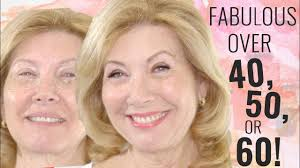 fabulous makeup for women over 50