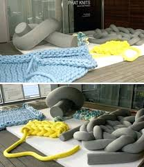 floor cushions diy. Floor Couch Diy Super Sized Knit Furniture Cushions Blankets  Cushion E