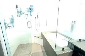 corner bathtub shower combo tubs with tub x foot soaking small bathroom