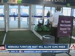 Nebraska Furniture Mart allows guns for conceal carry permit