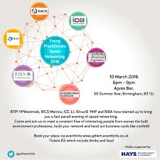 Istructe Midland Counties Ymg Joint Speed Networking Event Spring