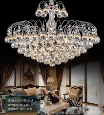 luxury crystal chandeliers contemporary ceiling lamp e14 led glass lights chandelier hanging led pendant lamp bedroom decoration dining room small