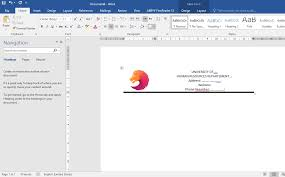 creating letterhead in word create letterhead using table in microsoft office word dimlog
