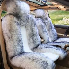 black sheepskin seat covers 1pc genuine real fur sheepskin car seat cover one size fits most