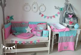 Chambre Fille Rose Et Turquoise Chambre