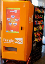 Burrito Vending Machine Interesting Burger Robots And Burrito Vending Machines Shake Up Fast Food Neon