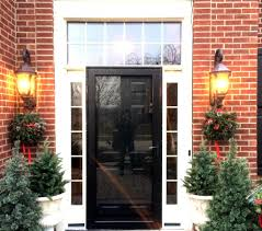 ProVia Heritage Black Front Door with Sidelights #OpalCurbAppeal ...
