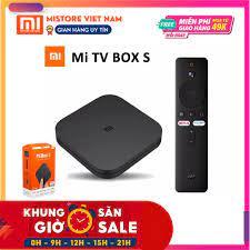 SIÊU RẺ] [Chính Hãng] (Quốc Tế - Tiếng Việt) Android TV Box Xiaomi Mibox S  4k HDR Điều Khiển Giọng Nói Google, Kết Nối Điện Thoại Với TV, Giá siêu rẻ  2,400,000đ!