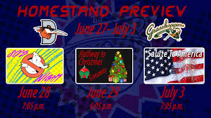 Homestand 7 Preview June 27 July 3 Hagerstown Suns News