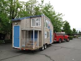Small Picture Fire Safety Tiny House on a Trailer Like this tiny house has two