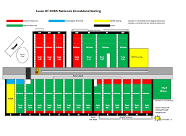 Grandstand Map Brainerd International Raceway Resort