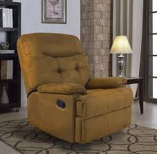 amazon ocean bridge furniture collection big jack microfiber recliner chair brown kitchen dining
