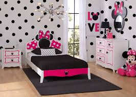 Minnie Mouse Bedroom Minnie Mouse Wooden Twin Bedroom Collection Delta Childrens