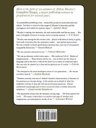 complete essays vol aldous huxley robert s baker  complete essays vol 5 1939 1956 aldous huxley robert s baker james sexton 9781566634410 com books