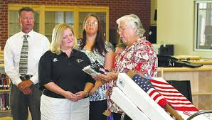 Woodmen Life donates flags for CCHS classrooms | Local News |  moultrieobserver.com