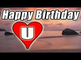 happy birthday e card video song romantic bolero beach sunset to you love u e cards free you