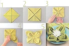 Paper Napkin Folding Flower Napkin Folding Flower Kobbicalutamiwebsite Fresh Napkin