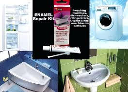 sink paint repair porcelain sink scratch repair