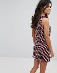 Glamorous Brand Shoes Glamorous Sleeveless Printed Dress