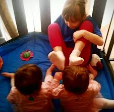 The truth about baby twins and toys