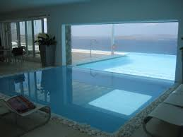 ... Charming House Swimming Pool Decoration Ideas : Charming Image Of Home  Interior Decoration Using White Stone ...