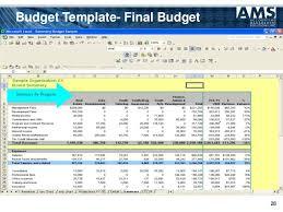 Nonprofit Budgeting Non Profit Budget Template Mwb Online Co