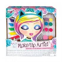 unicorn magic make up artist sketch set