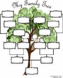 printable family tree form free family tree charts kiddos pinterest family tree chart
