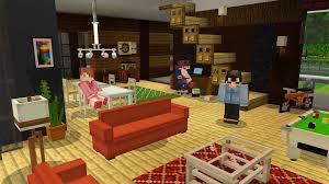minecraft furniture mod modern interior living room screenshot