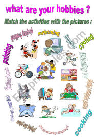 What Is Your Hobbies What Are Your Hobbies Esl Worksheet By Maram11
