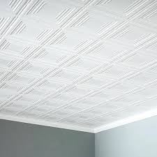 glamorous glue up ceiling tiles for bathroom