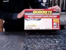epoxy flooring basement. Quikrete Epoxy Garage, Basement Floor Painting And Protection Flooring