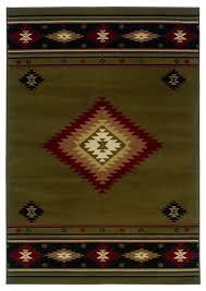oriental weavers hudson 87j green rug southwestern area rugs by veloxmart llc