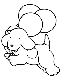 Easy Dog Coloring Pages Kids Ekids Pages Free Free Easy Coloring