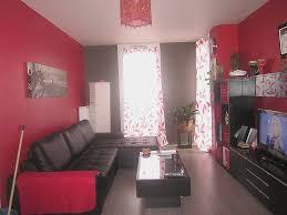 Deco Salon Rouge Et Gris Best Of Meuble Noir Interesting Maison