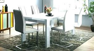 full size of white high gloss extending dining table and chairs komoro with 6 perth hig