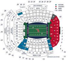 Football Priority Seating Ole Miss Athletics Foundation