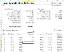 Loan Amortization Calculator Excel Balloon Payment With Schedule ...
